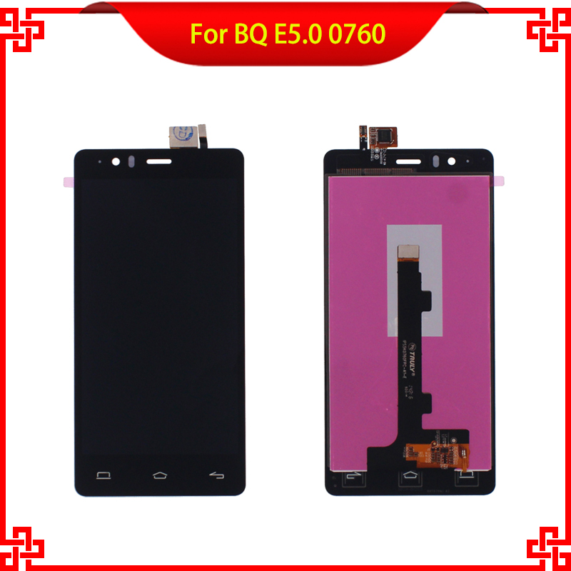5PC/Lot  LCD Display Touch Screen Digitizer Assembly For BQ Aquaris BQ E5 E5.0 0760 Mobile Phone LCDs Free Tools Gift<br><br>Aliexpress