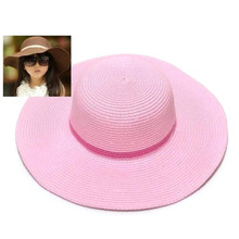 Kids Big Brim Felt Straw Hat Fedora Children Derby Panama Visor Cap New Hot