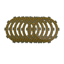 Motorcycle Engine Parts Clutch Friction Plates Kit For Honda TRX400EX TRX400 TRX 400 EX 1999-08 TRX400X 2009-13 TRX250R 1986-89