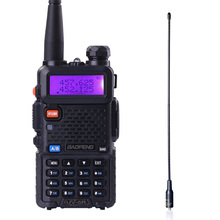 BAOFENG UV-5R Walkie Talkie Dual Band Radio VHF UHF Portable Walkie Talkie Handheld cb Radio Ham Radio Transceiver(China)