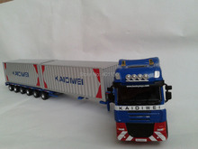 1:50 KAIDIWEI semi-trailer truck container toy(China)