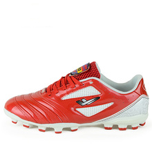 Men Boy Soccer Cleats Red Football Shoes Brands Leather Turf Boots For Male Size 11 Man Football Shoes Big Size Training Cleats
