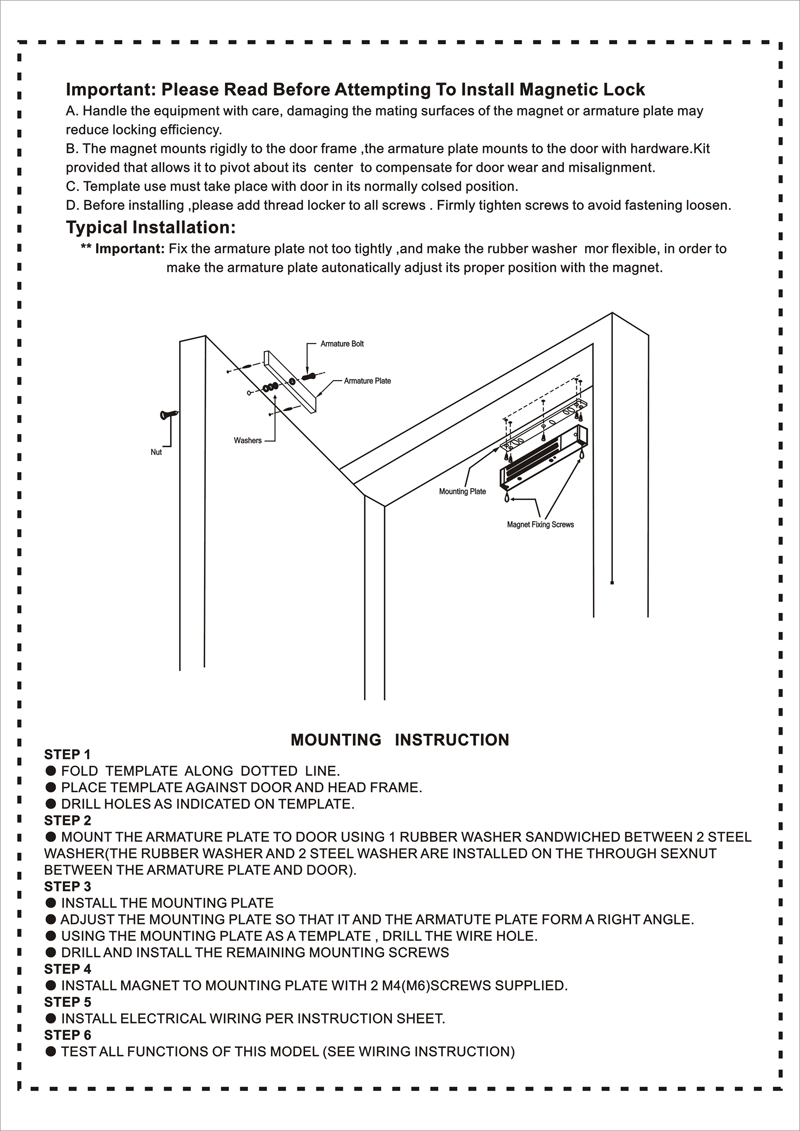 Manual for 280KG EM lock (2)