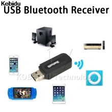 Bluetooth USB A2DP Adapter Dongle Blutooth Music Audio Receiver Wireless Stereo 3.5mm Jack for Car AUX Android/IOS Mobile Phone(China)