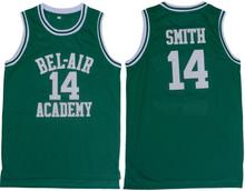 2016 Smith Basketball Jersey Number 14 Color Green Good Quality Basketball Jersey