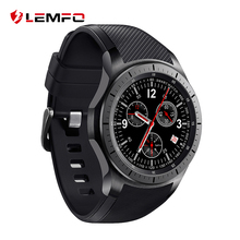 New Fashion LEMFO LF16 Android 5.1 OS Smart Watch 3G WIFI MTK6580 512MB+8GB Wristwatch Smartwatch for Android IOS Gear S3 Phone