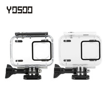 YOSOO High Strength Sport Camera Waterproof Diving Housing Case With Base For Xiaomi Yi 2 4k Sport Acton Camera Accessories