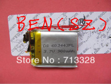 603443 battery for PS wholesale,900MAH Lithium Ion battery for MP3 player