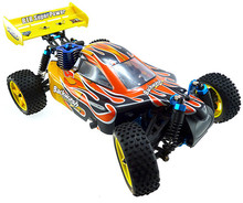HSP Rc Car 1/10 Scale Nitro Gas Power 4wd Two Speed Off Road Buggy 94166 High Speed Hobby Rc Remote Control Car