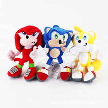 High quality 20cm / 30cm Sonic the Hedgehog Plush Doll Toys Soft Sonic Stuffed Animals Characters Kids Toys Dolls Gifts(China)