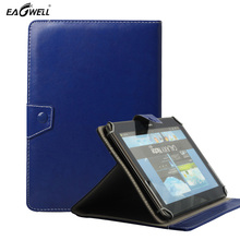 Universal PU Leather Case for 9.7 inch 10 inch 10.1 inch for Android Tablet PC MID Stand Cover For samsung galaxy tab 4 10.1(China)