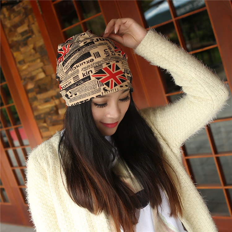 2015 Autumn Fashion New Knit Baggy Beanie Hat UK Flag Female Warm Winter Hats for Girls Women Beanies Bonnet Head CapÎäåæäà è àêñåññóàðû<br><br><br>Aliexpress