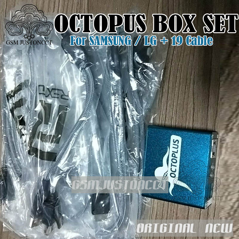 OCTOPUS Box FOR SAM + LG 19 cable - gsmjustoncct 2