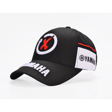 New Black Red F1 racing cap Car Motocycle Racing MOTO GP VR 99 rossi Embroidery hiphop cotton trucker Yamaha Baseball Cap Hat(China)