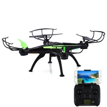 Q16 RC Helicopter WiFi FPV 2.4GHz 4CH 6 Axis Gyro Drone RTF 0.5MP CAM Quadcopter APP Transmitter Control Quad Copter