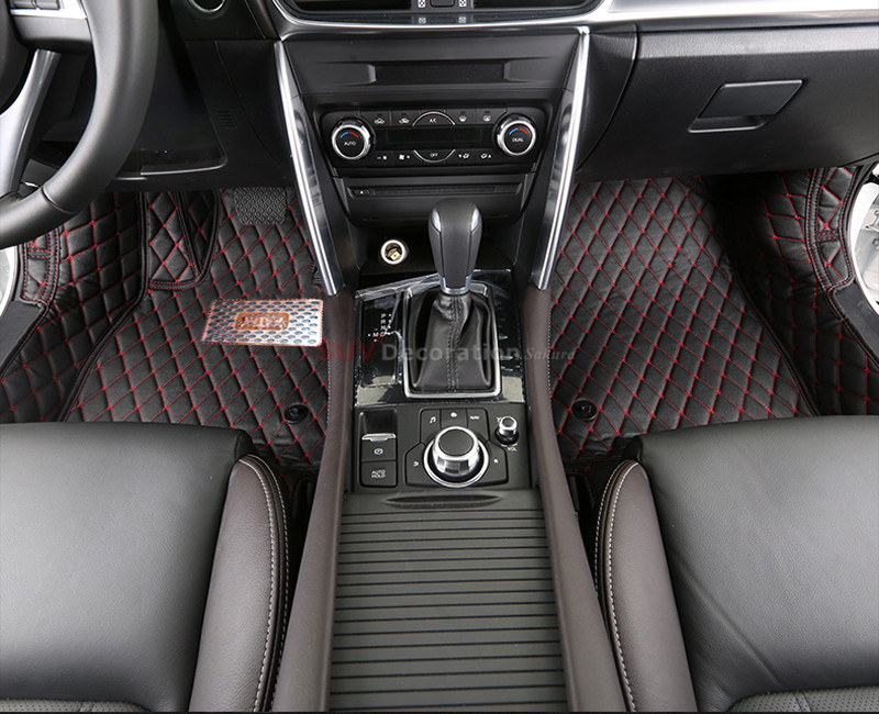 For Mazda MX5 2005 - 2014 Interior Full set Waterproof Leather Car Carpet Foot Mat<br><br>Aliexpress