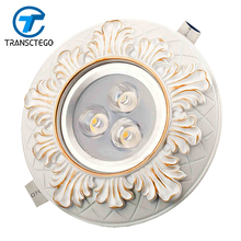LED downlight Western style COB ceiling lamp living room aisle indoor lights 3W 5W 7W 12W spot einbaustrahler