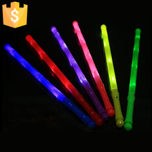 Light Up Multi Color LED Foam Stick Wands Rally Rave Cheer Batons Party Flashing Glow Stick LED Light free shipping 500pcs