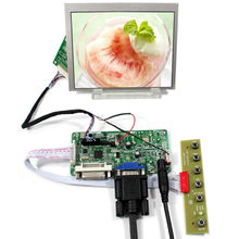 DVI VGA LCD controller board RT2281 with 5inch AT056TN53 V1 640X480 lcd panel