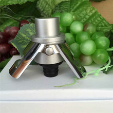 Professional stainless steel champagne blister bottle sealed plug vacuum pump sealed red wine champagne gland(China)