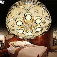 High-end European-style low-voltage lights round living room bedroom modern minimalist restaurant lights Ceiling Lights(China)