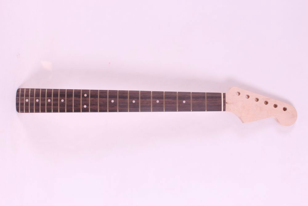 one  right  unfinished electric guitar neckmahogany made and rosewood fingerboard Bolt on 22 fret<br>