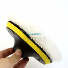 2017 New 6pcs/set 5'' Auto Car Polisher Polishing Polish Buffer Clean Waxing Pad Set APR17_25
