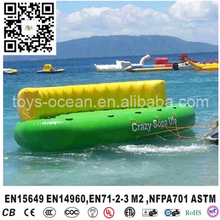 Towable Water Tube 6 Person Inflatable island Outdoors Sport Boat Ski