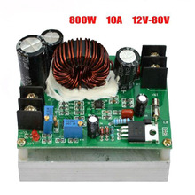 800W Boost DC-DC Converter Power Supply Step-up Module 12-80V to 12-80V