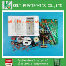 Free Shipping  1pcs AM / FM stereo AM radio kit / DIY CF210SP electronic production suite