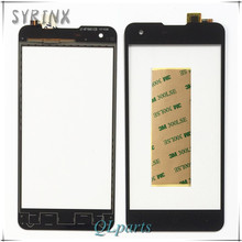 Syrinx Stickers Touch Screen Digitizer For Highscreen Omega Prime S Smartphone Touch Panel Glass Touchscreen Replacement Sensor(China)