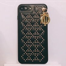 Buy iPhone 6 6s plus Luxury Fashion Rivet D cell Phone Cases Apple iPhone 7 8 plus X Women Mobile phone Case Cover for $8.16 in AliExpress store