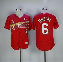 MLB Men's palyer 6 St. Louis Cardinals Yadier Molina Cam Fowler Ozzie Smith Stan Musial matt carpenter jerseys(China)