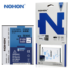 Original NOHON Battery For Samsung Galaxy S3 i9300 i9305 i879 T999 i9082  EB-L1G6LLU 2100mAh High Capacity With Retail Package
