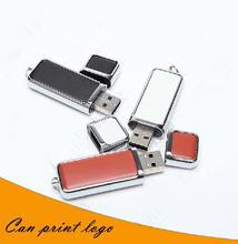 Usb Stick Top selling leather keychain - USB Flash 2.0 Memory Drive Stick 4GB 8GB 16GB 32GB 64GB USB flash driveS283pendrive(China)