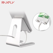 RAXFLY Universal Phone Holder Stand Aluminum Metal Tablet PC Stand For iPhone For iPad For Samsung For Xiaomi Huawei Desk Holder