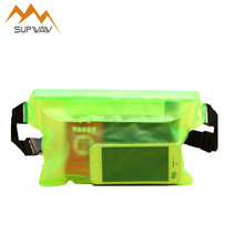 Final Sale Drift Swim Three Layers PVC Waterproof Pockets Underwater Dry Waist Bag Adjustable Belt Outdoor Multifunction Bags(China)