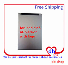 For Apple iPad Air 5 A1475 4G 3G Version Battery Door Back Rear Housing Cover Case Replacement with logo Free Shipping
