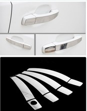 Stainless Steel Car Door Handle Cover Trim Sticker For Opel Vectra Free Shipping