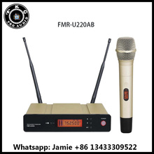 TKG 740-765MHz True Diversity night club sound system stage performance handhold wireless mic single channel microphone karaoke