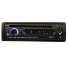 1 Din Bus DVD Player 12-24V With Microphone Jack FM Receiver+Bus In Dash DVD Player With FM SD USB Mic DC24V