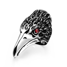 Free Shipping,Retro Ancient Maya Fashion Flying Birds Mouth of eagle Ring,Hot Stainless Steel Quality Ring. R190