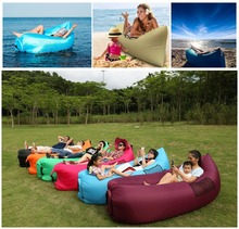 Inflatable Air sofa Lounger, Portable Air Beds Sleeping Sofa Couch for Travelling Camping Beach Park Backyard air lazy bed