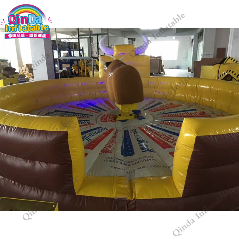 inflatable mechnical bull mat55