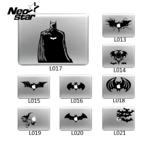Cool Laptop Sticker Batman Vinyl Decal laptop Sticker for Apple Macbook Pro Air 13 11 15 Cartoon laptop Skin shell for Mac book