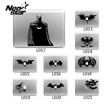 Cool Laptop Sticker Batman Vinyl Decal laptop Sticker for Apple Macbook Pro Air 13 11 15 Cartoon laptop Skin shell for Mac book(China)