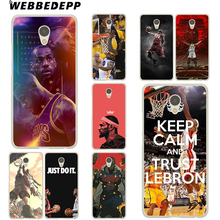 WEBBEDEPP lebron james basketball Case Meizu M6 M5 M5C M3 M2 Note M3s mini M5S U10 U20 Pro 6 7 Plus