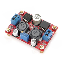 DC-DC Converter Auto Step-Up Step-Down Solar Power Supply Module - Red(China)