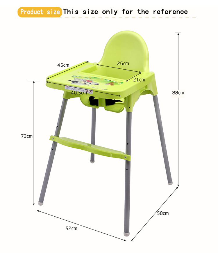 Baby High Chairs Feeding Table Dining Chair Adjule The Height 0 6 Years Seats In Sofa From Mother Kids On Aliexpress Com