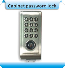 Free shipping natatorium locker TM card Metal Digital Electronic Password keypad number Cabinet Code locks+2pcs TM keyfobs